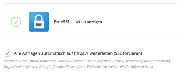 Was muss ich tun, damit meine Webseite mit https ausgeliefert wird?